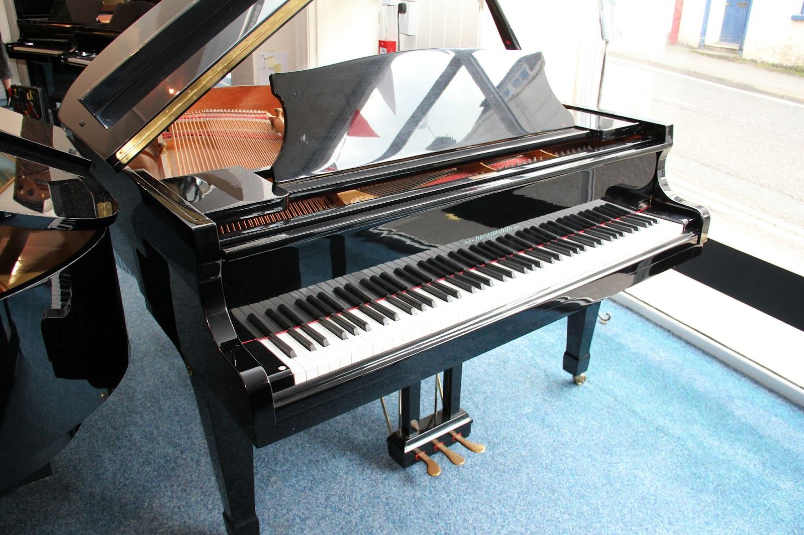 Black Baby Grand Piano New Used Upright Grand Pianos